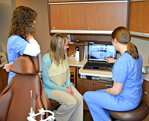 Digital Panoramic and Intraoral X-Rays